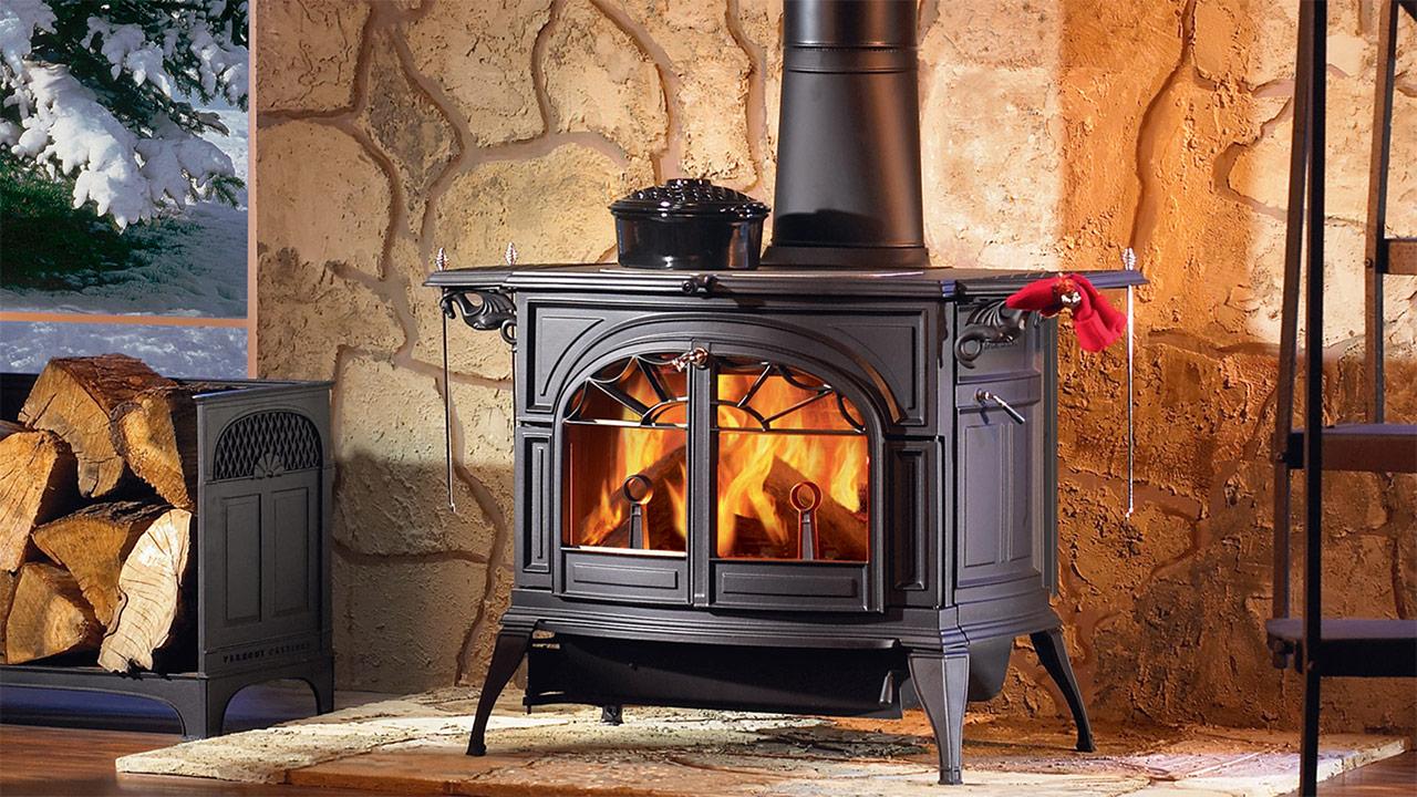 печка на даче фото